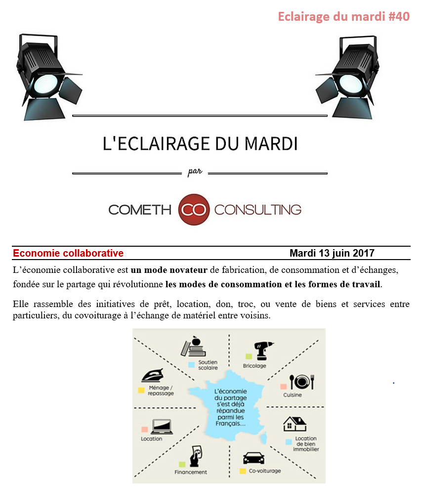 eclairage du mardi n 40 economie collaborative cometh consulting. Black Bedroom Furniture Sets. Home Design Ideas